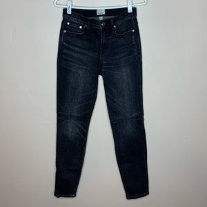 J. Crew High-rise Toothpick Jeans